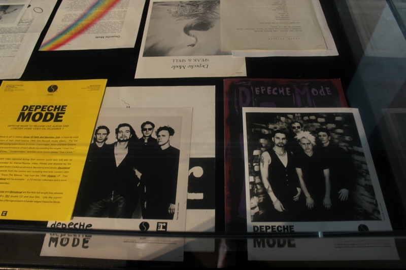 Depeche Mode Exhibition