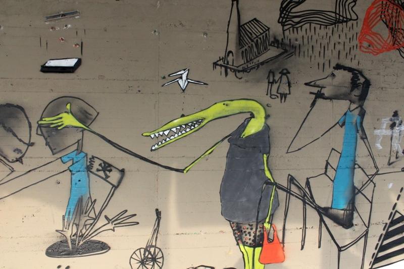 Taidetta seinillä